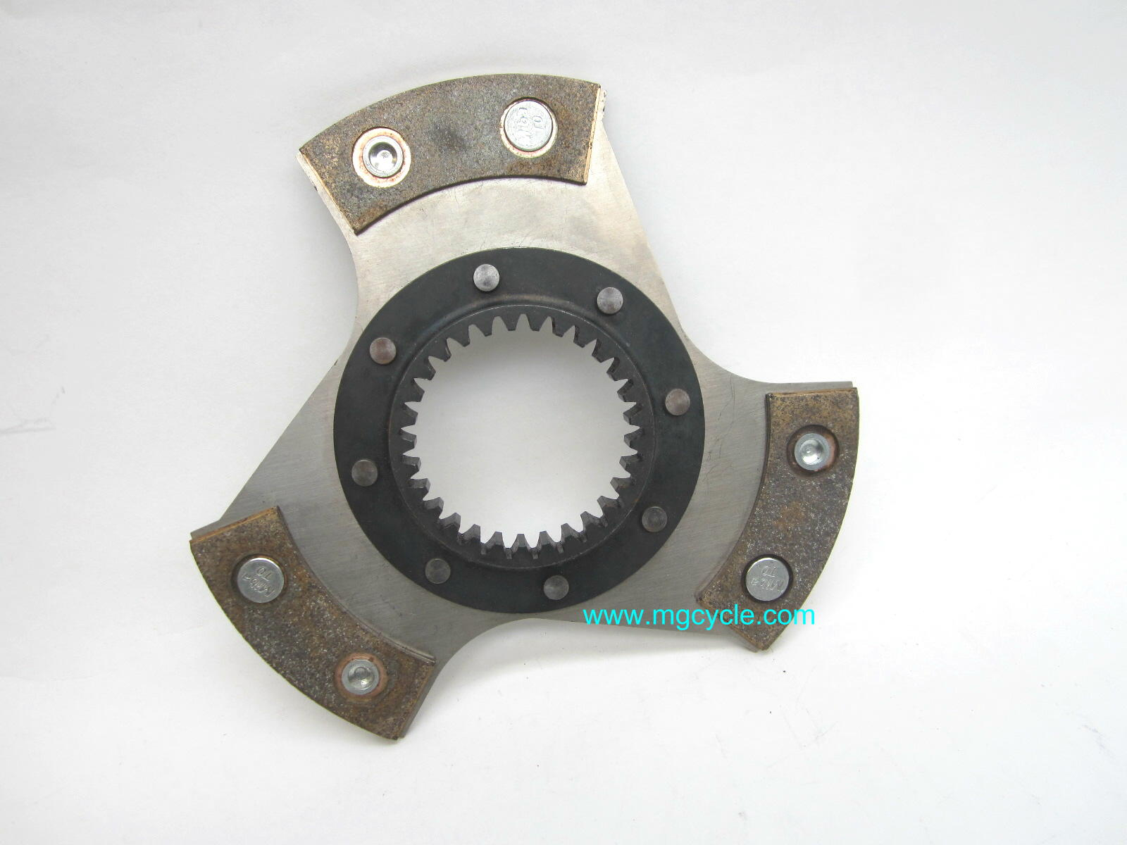MIBA sintered clutch plate for RAM low inertia clutch