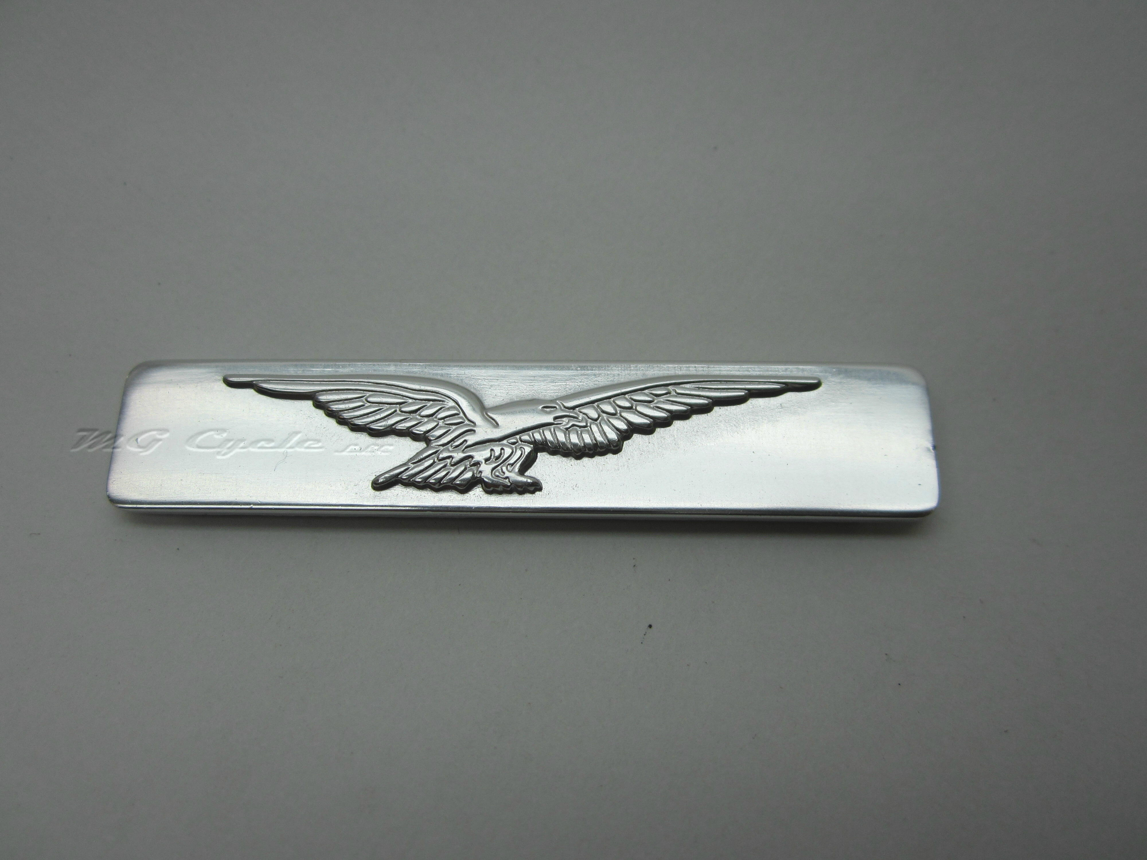 aluminum eagle emblem, badge, adhesive backed