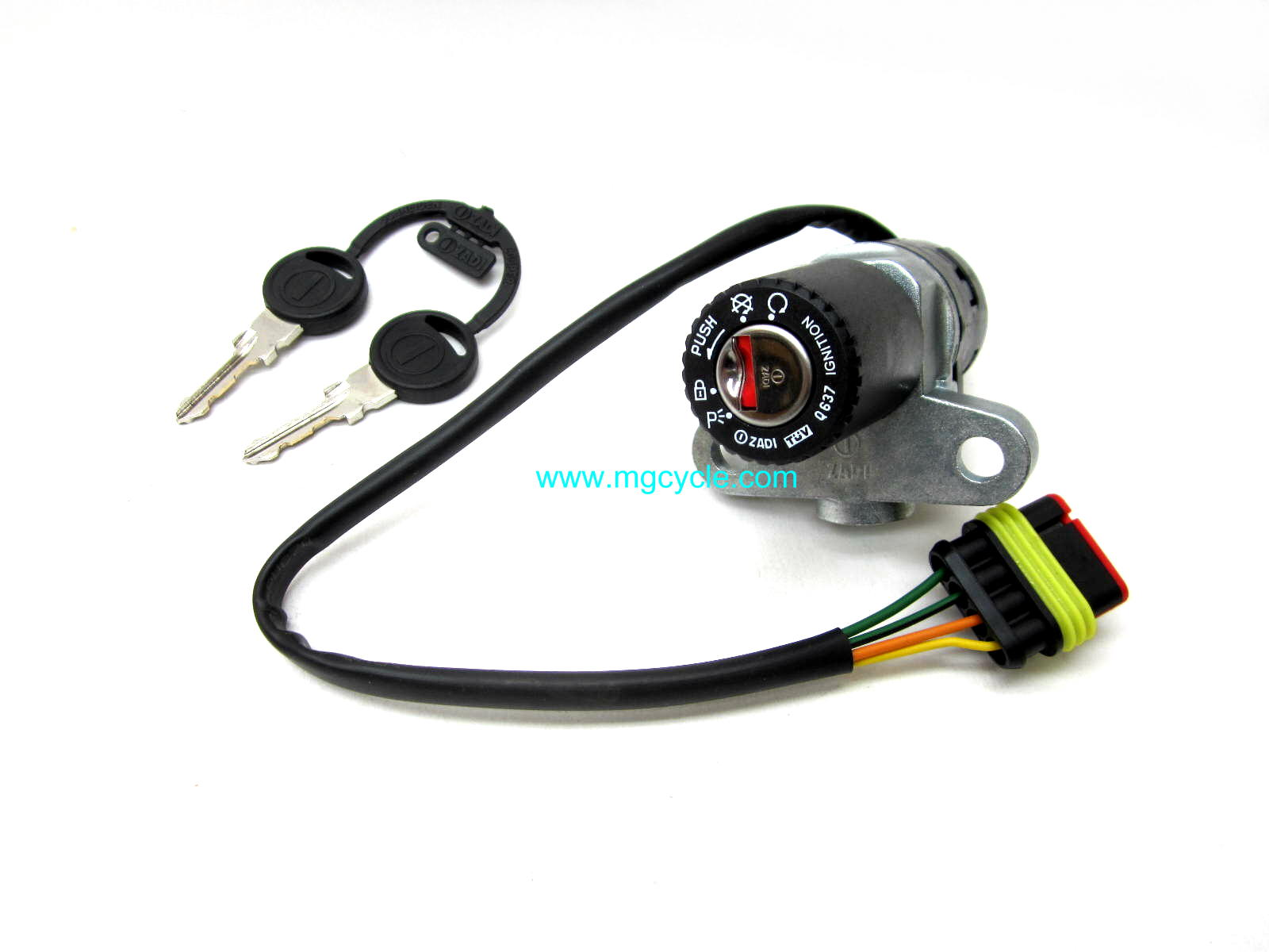 ignition swich, steering lock, with keys, many models 1996-2013