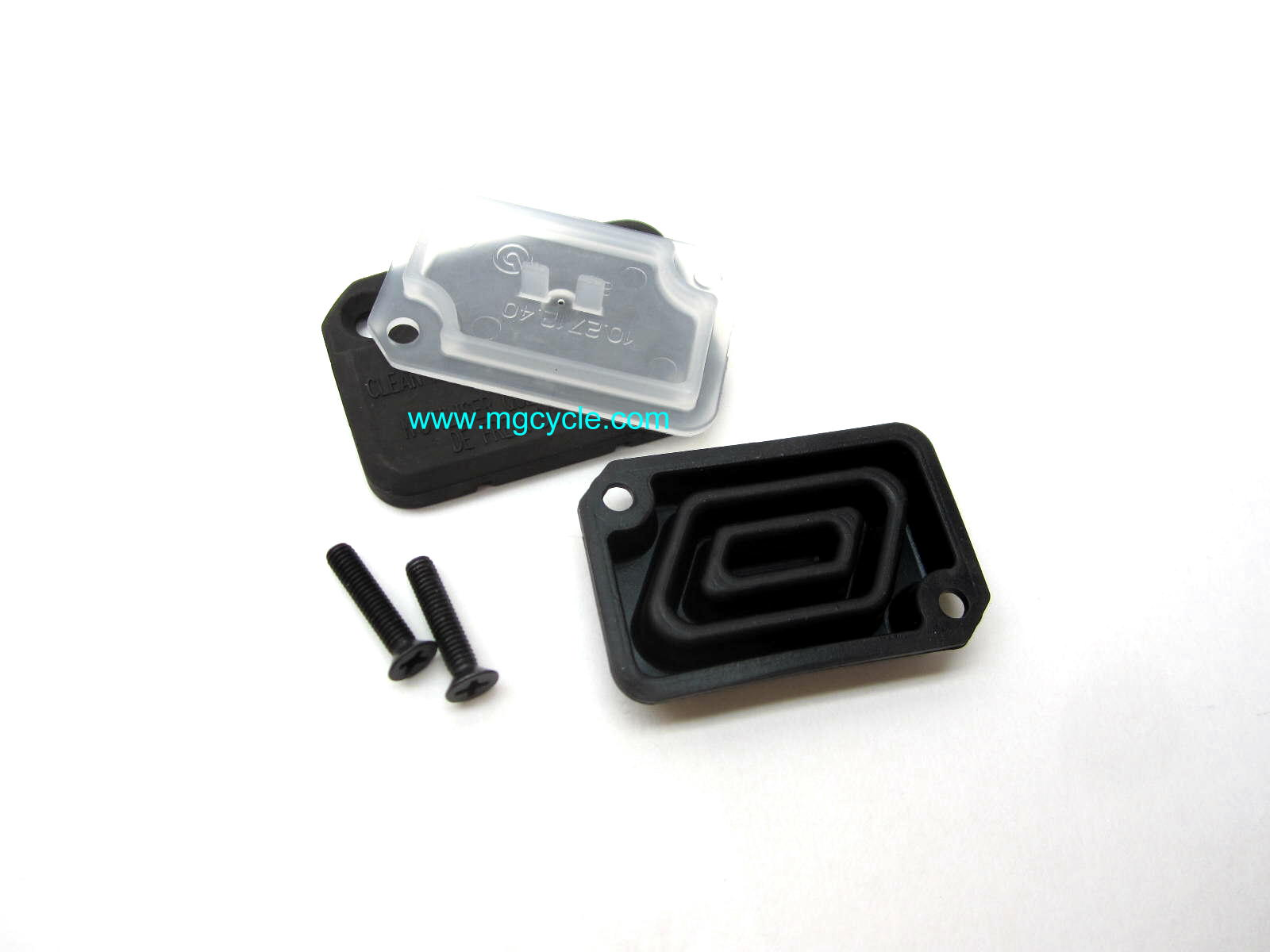 Brembo master cylinder lid kit for many 2001 and later models