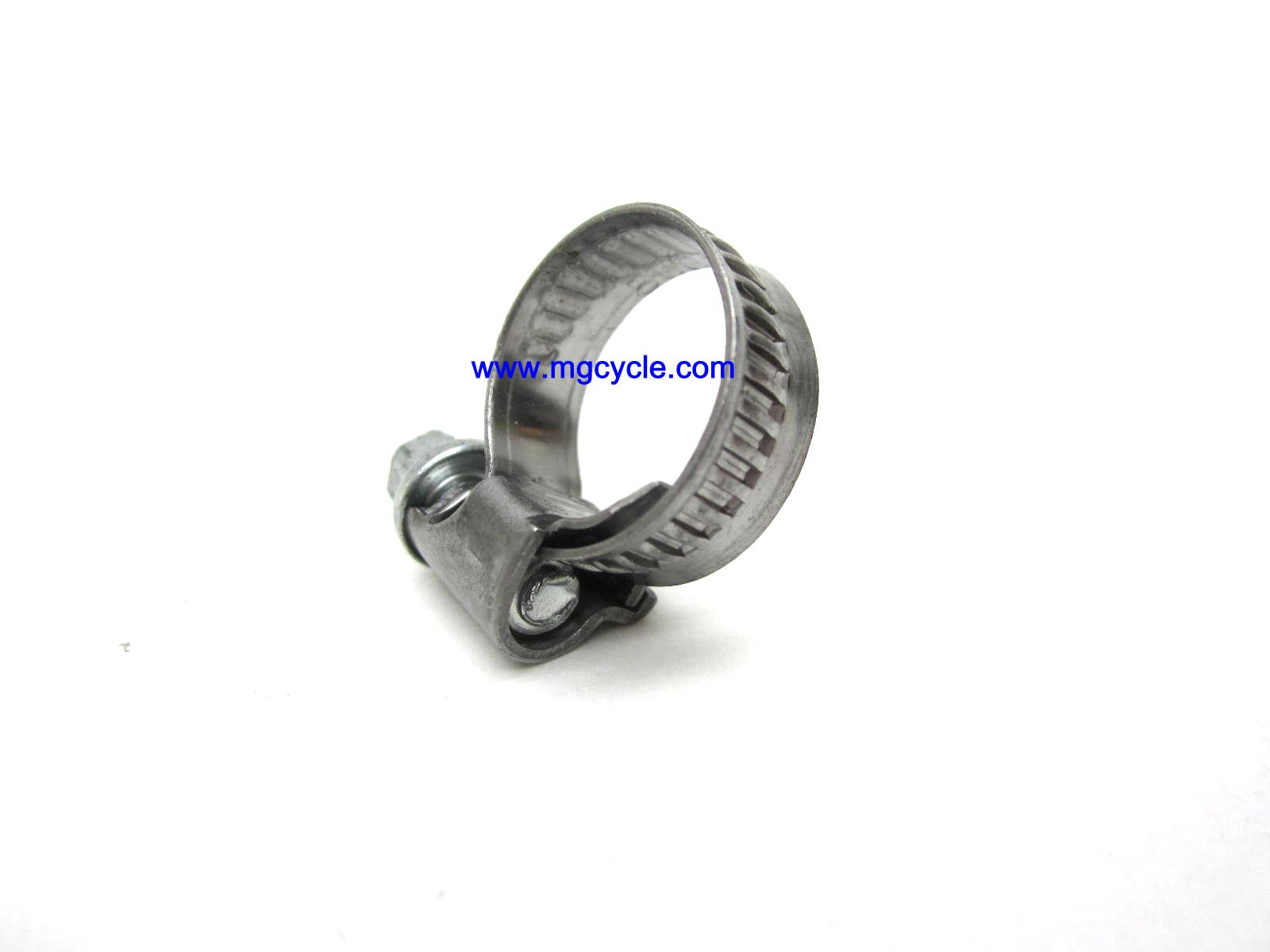 better hose clamp for 10 - 16 mm OD hose, 6mm wide