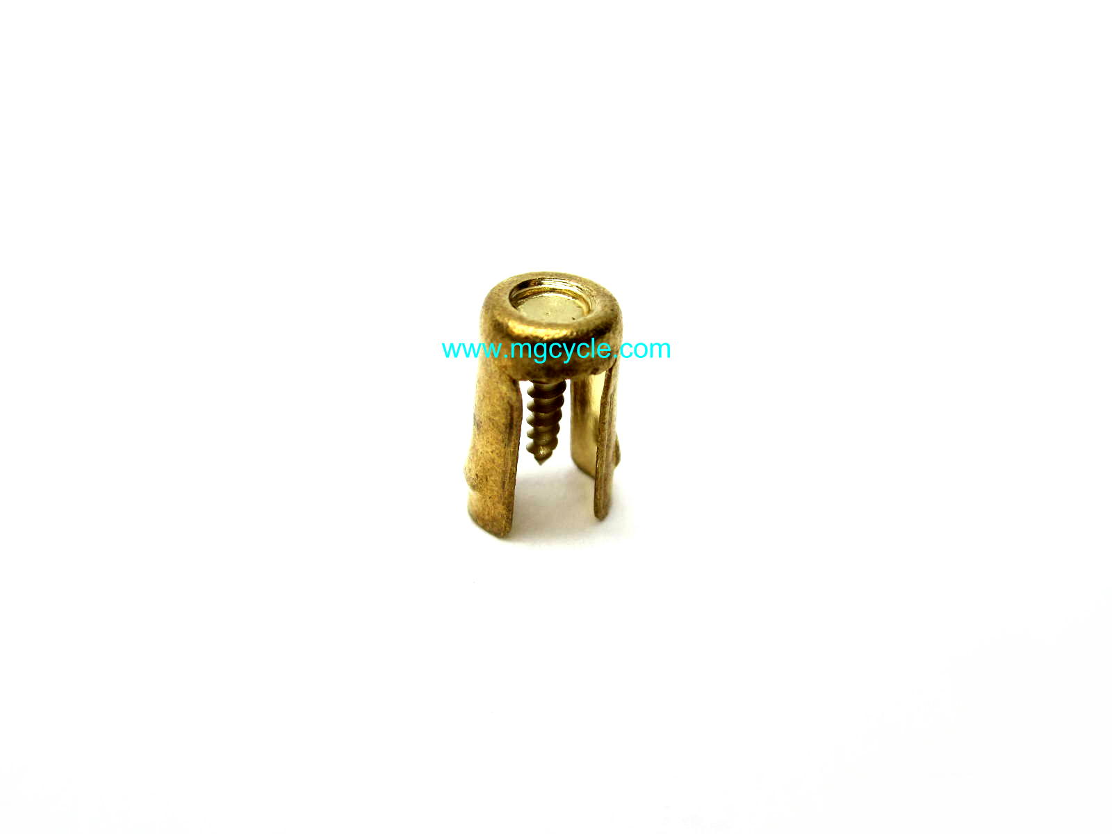 Screw-in plug wire end, for coils, distribributor cap