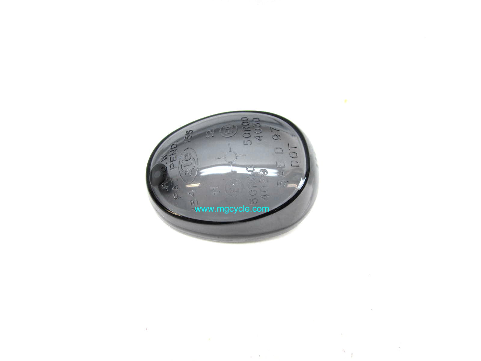 turn signal lens, Griso, smoke version