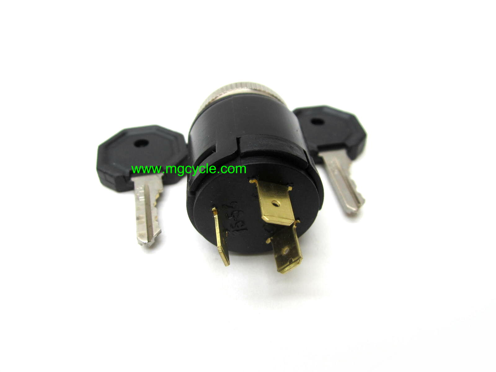 ignition switch, 3 wire, 2 position, Ducati bevel heads