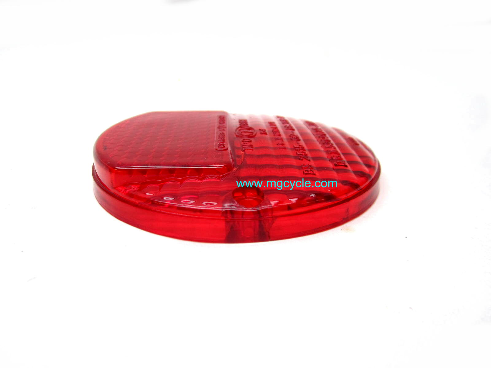 Italian Ambassador Eldorado tail light lens, with reflector