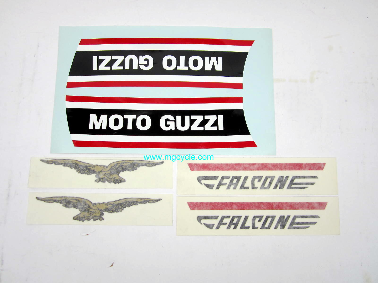 fuel tank / sidecover decal set Nuovo Falone civilian version