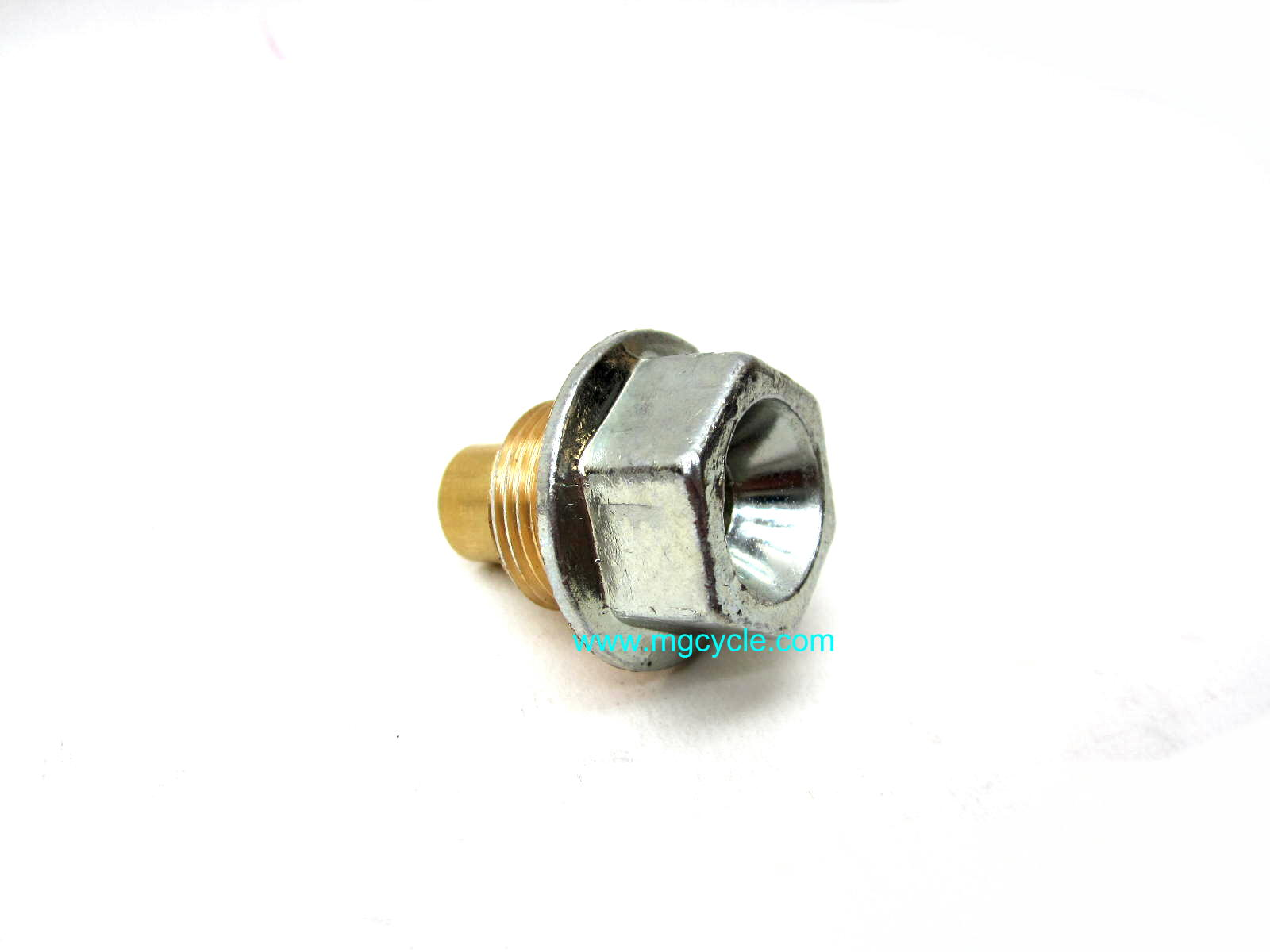oil drain plug with built in magnet
