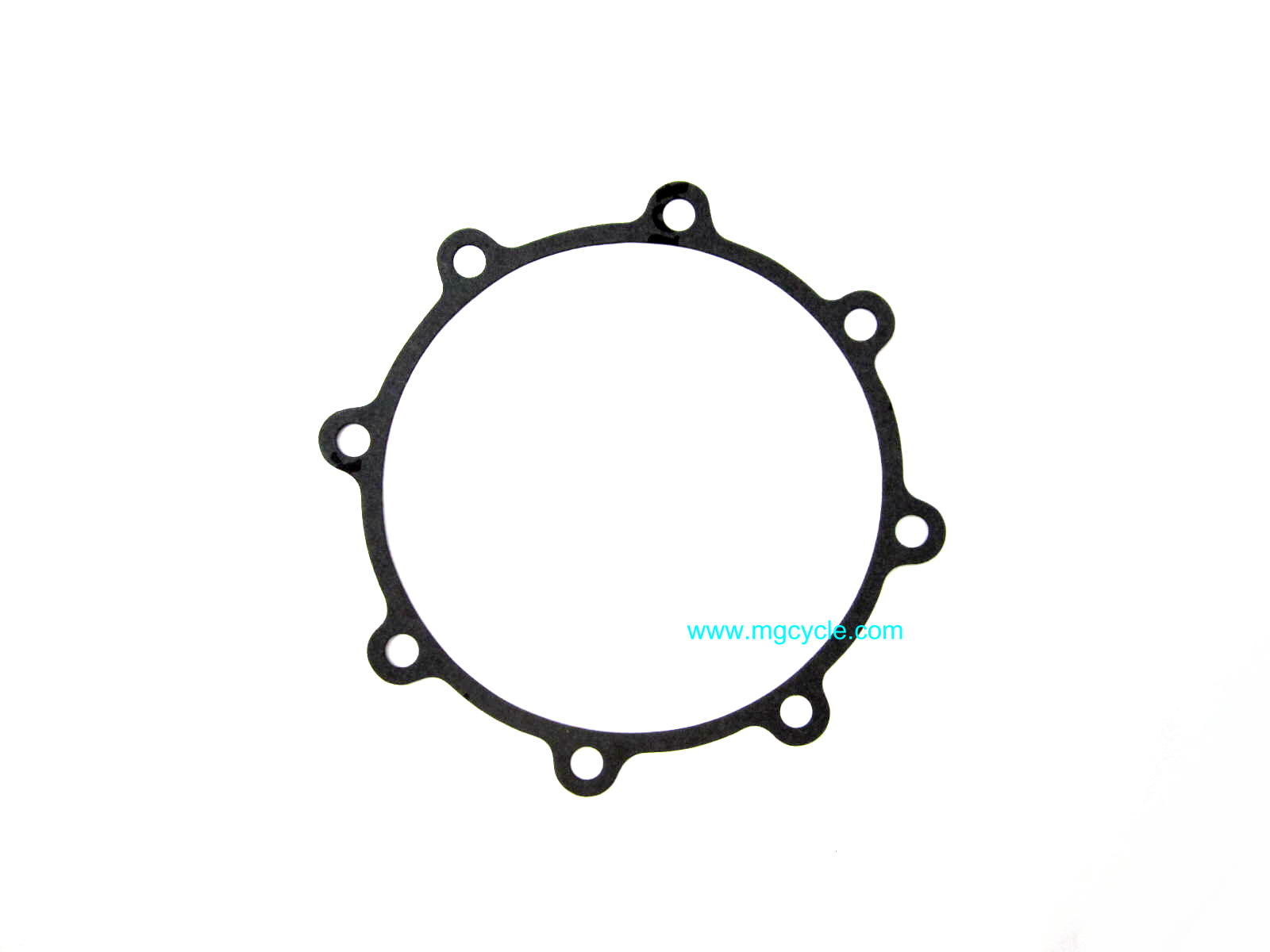 Rear main bearing carrier flange gasket