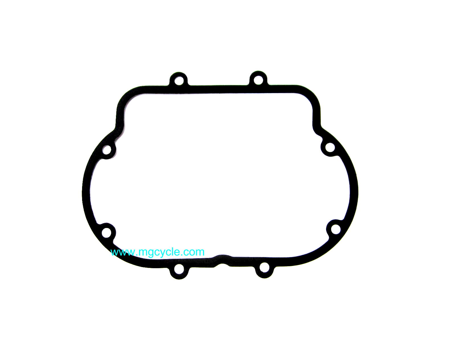 Metal core valve cover gasket, round fin big twins GU12023700