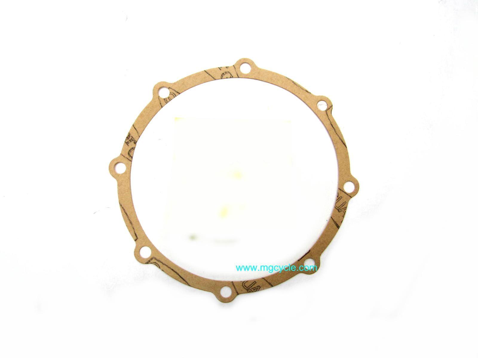 rear drive flange gasket, drum brake rear end