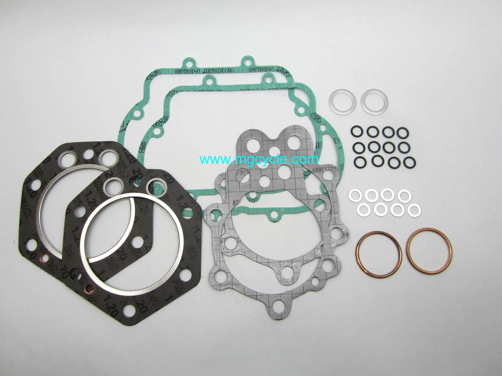 Top end engine gasket set for Ambassador, Eldorado V7 Sport