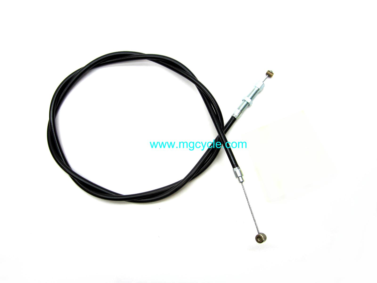 Clutch cable V700 and Ambassador, longer Police length