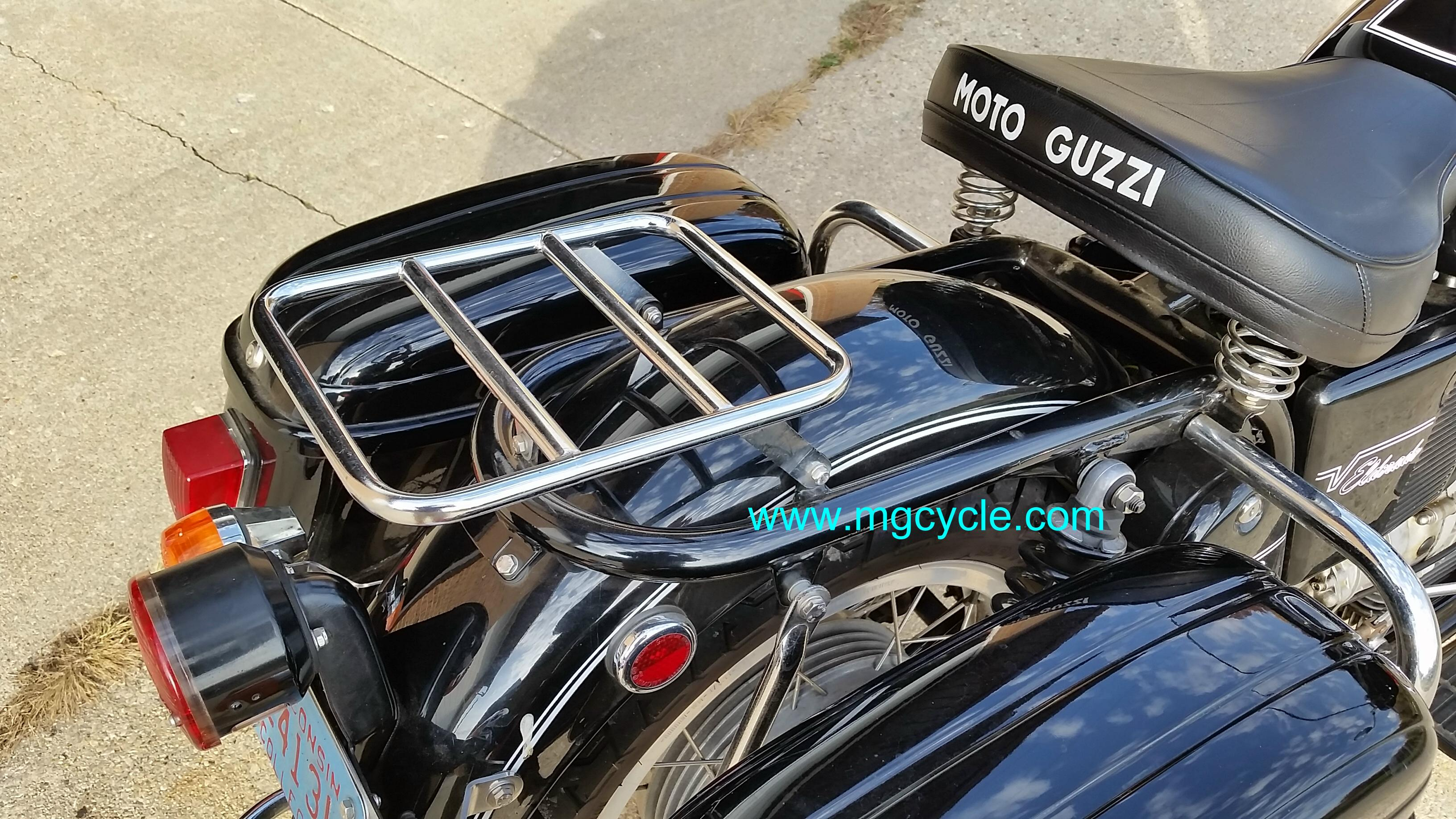 850GT California luggage rack, for solo seat V700 Ambassdor Eldo