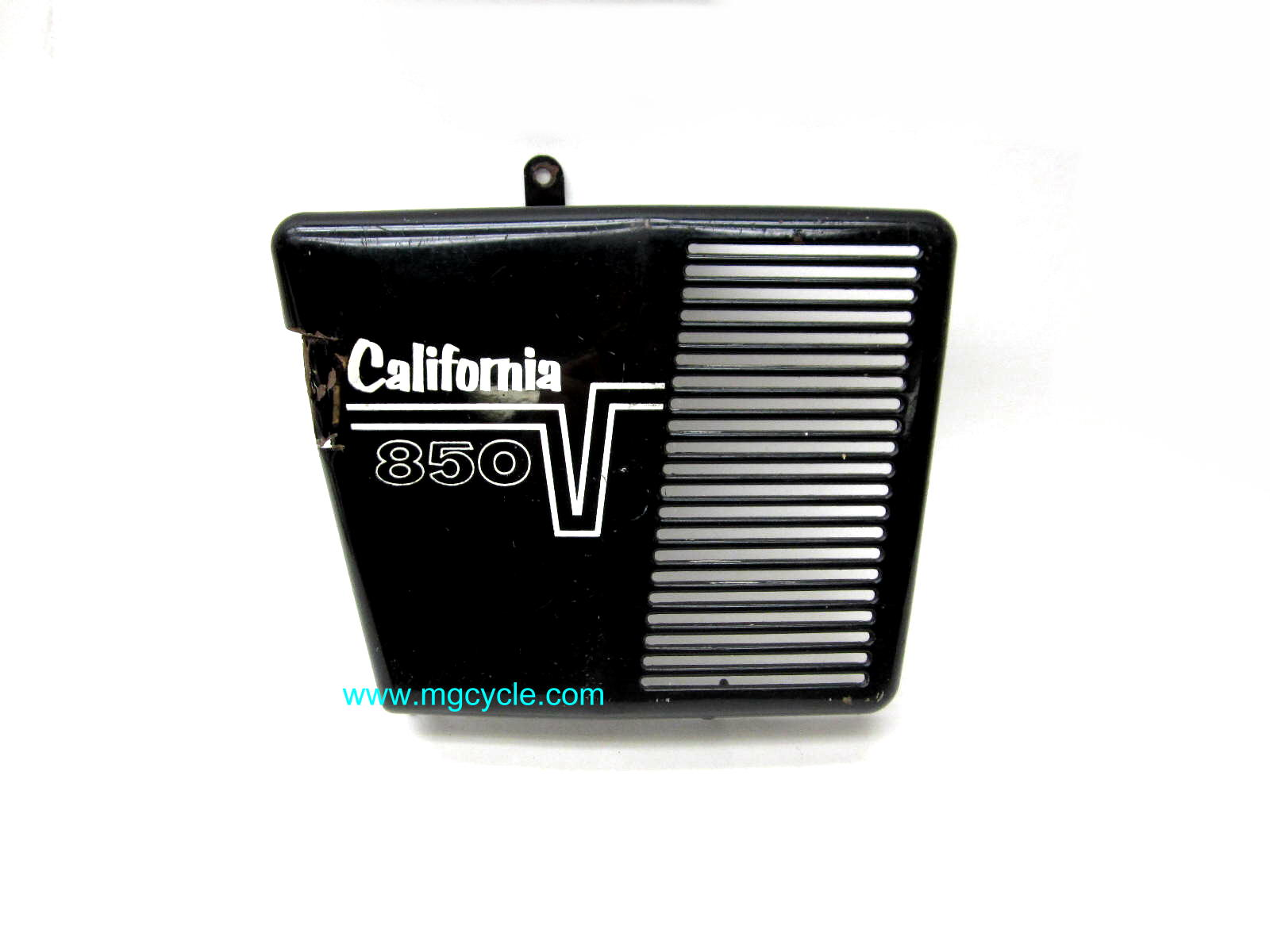 USED: 850 California right side battery cover, cut