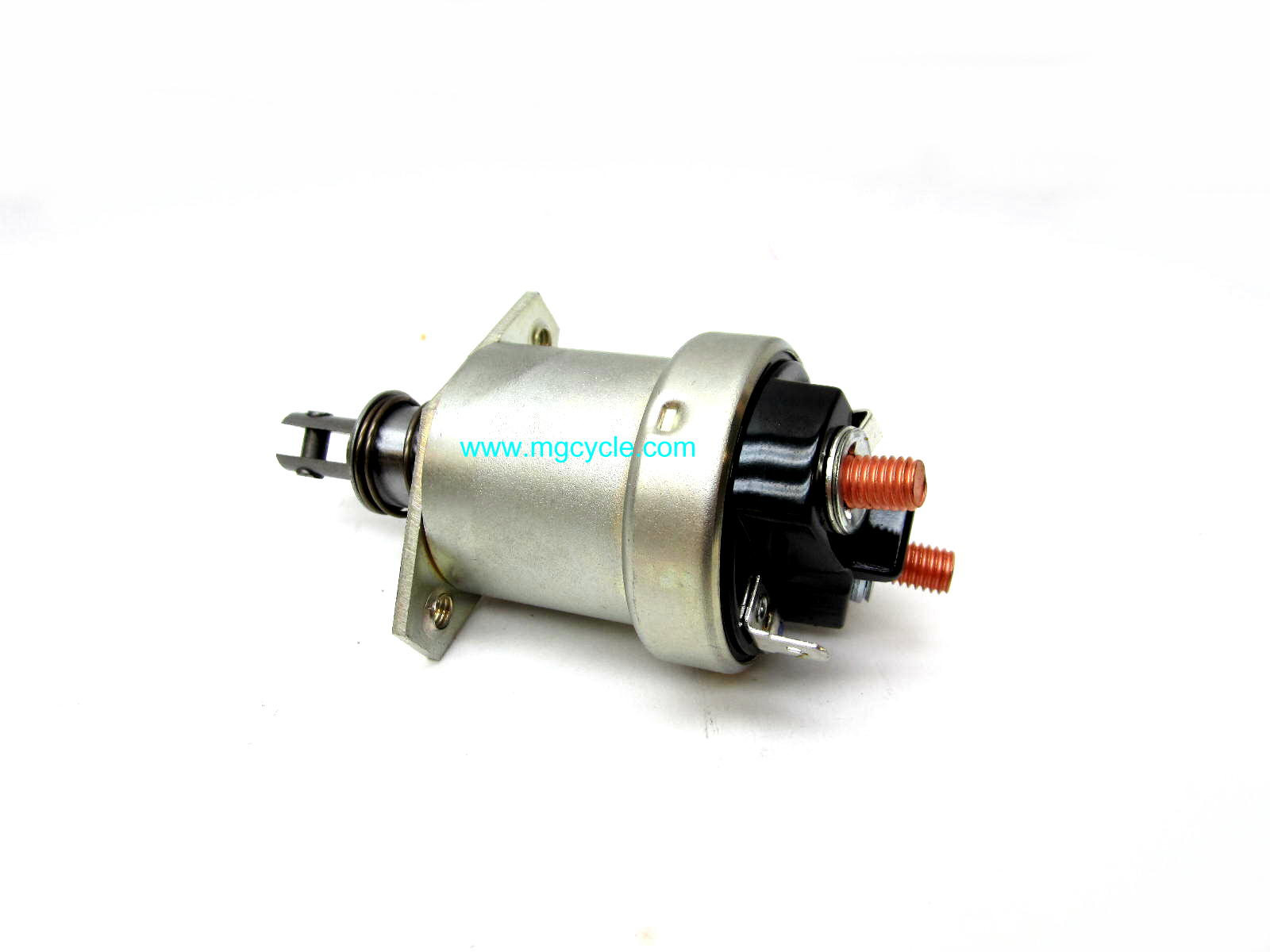 Starter solenoid modified to fit Marelli starters