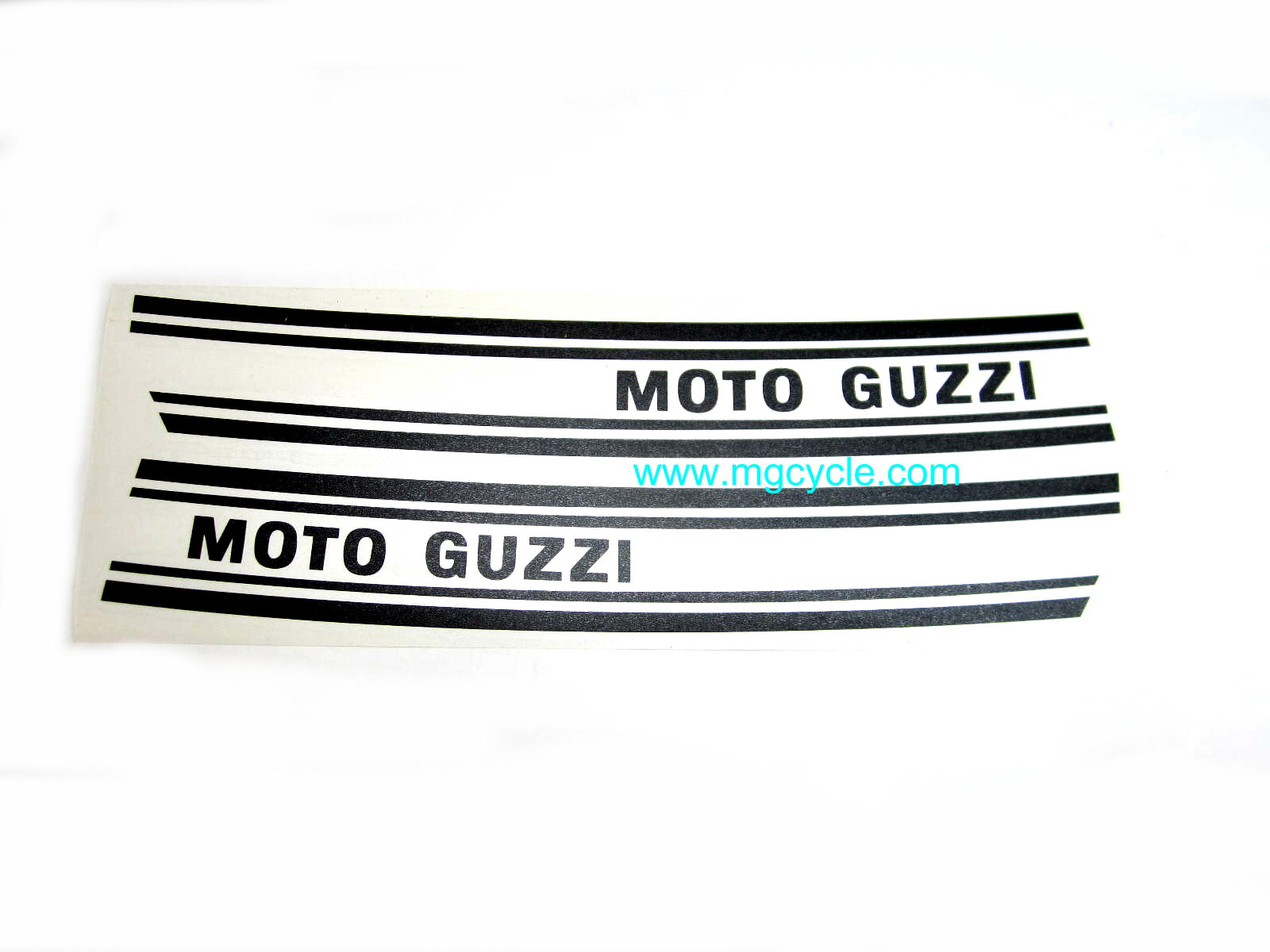 Black fuel tank decal set 850GT