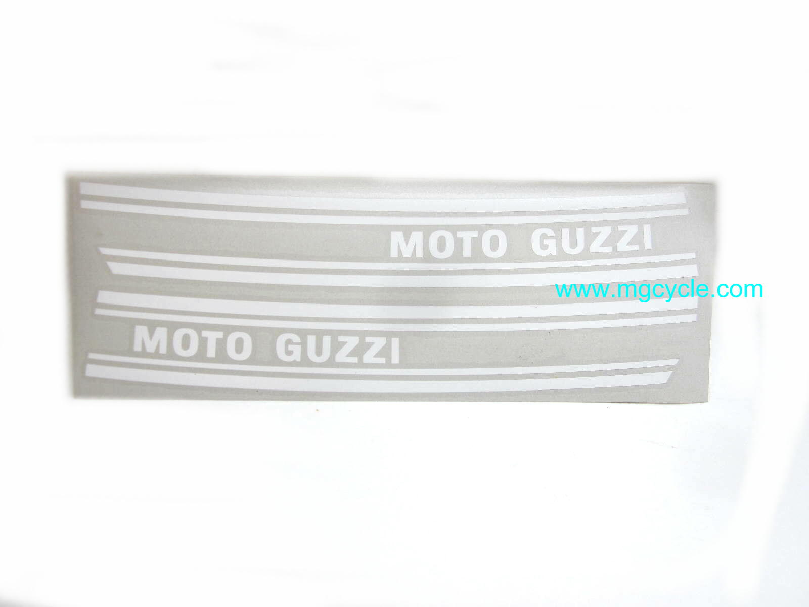 White fuel tank decal set 850GT