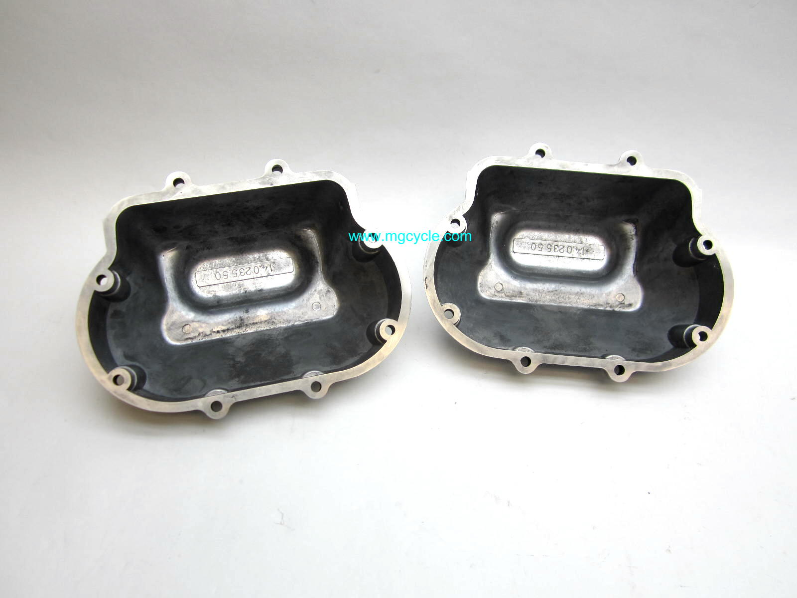 Valve cover pair, 850 LeMans, 850 T3, V1000 Convert, G5, polishe