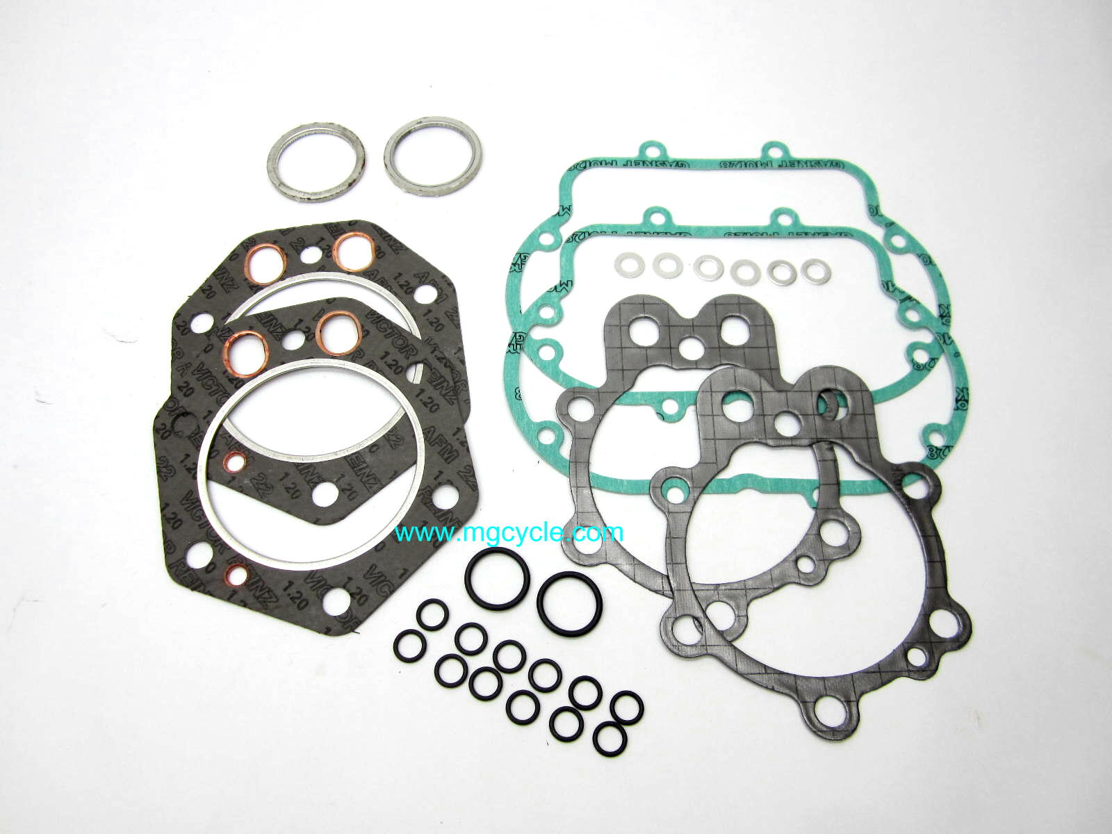Top end engine gasket set 850T and 850T3 with Gilardoni oval