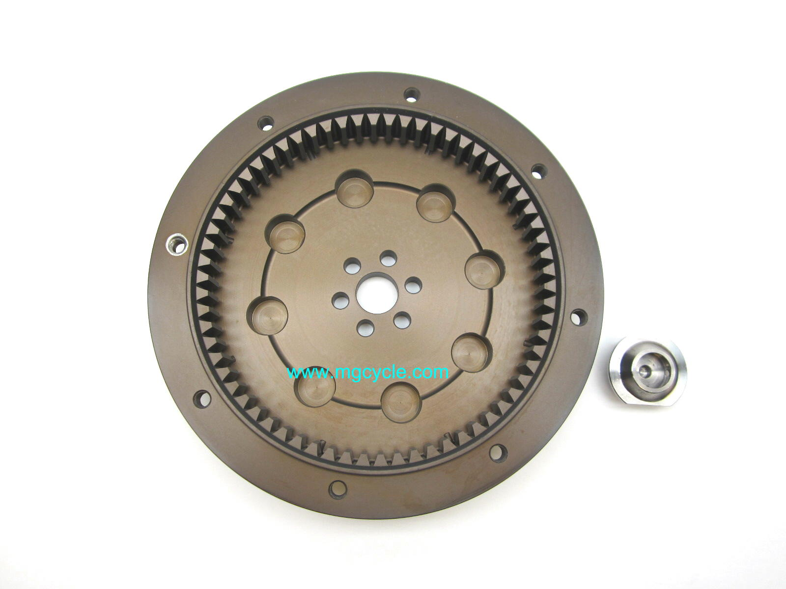 Ergal aluminum flywheel, special order only