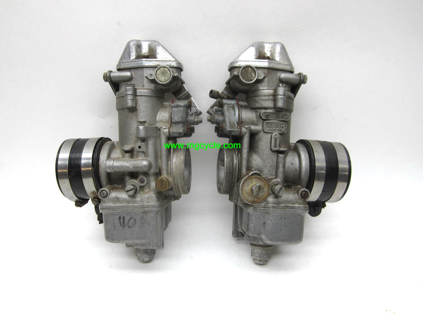 USED PAIR: Dellorto PHF36BD PHF36BS carburetors OEM LeMans 850