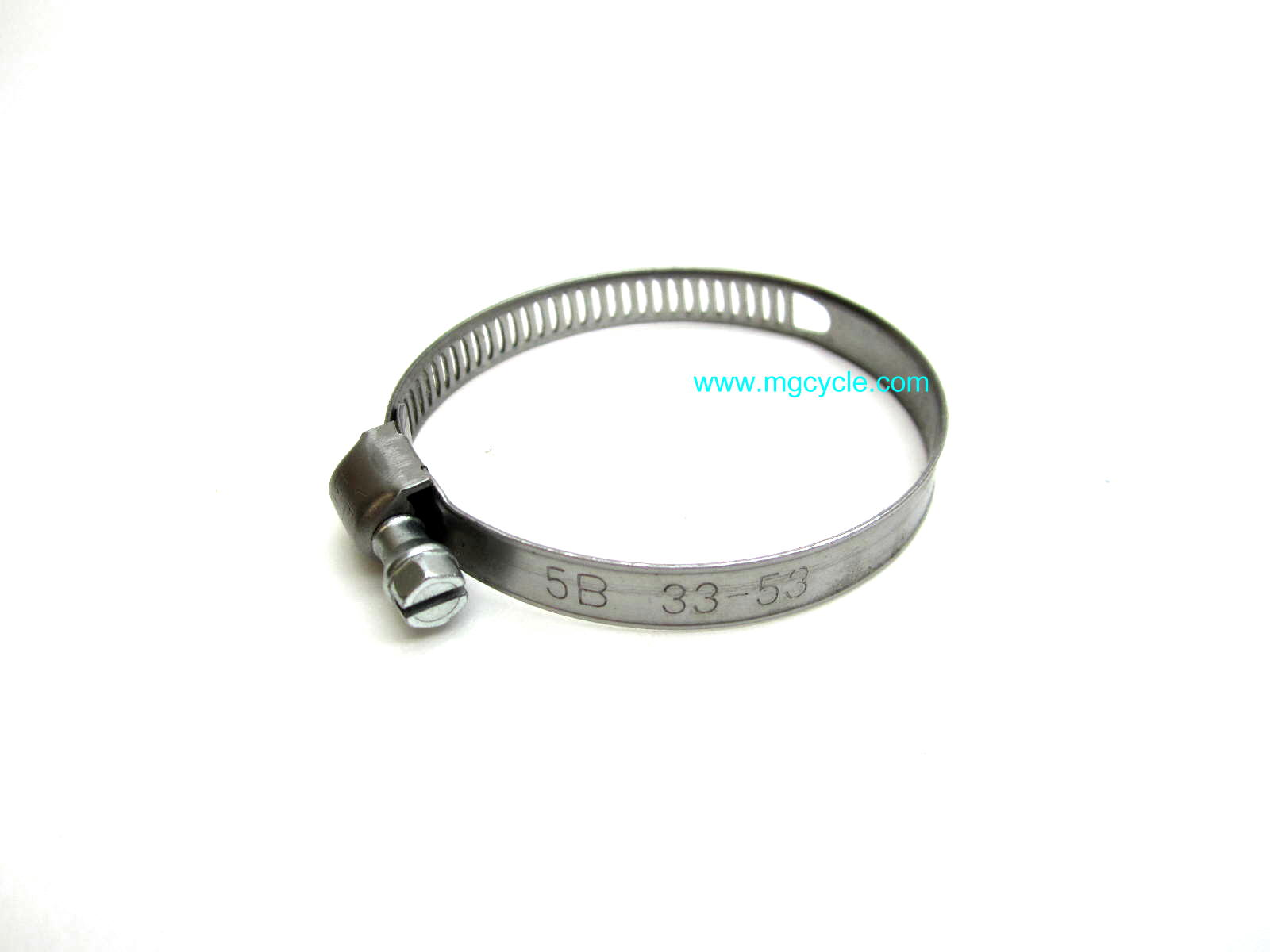 narrow stainless hose clamp, 33mm-53mm