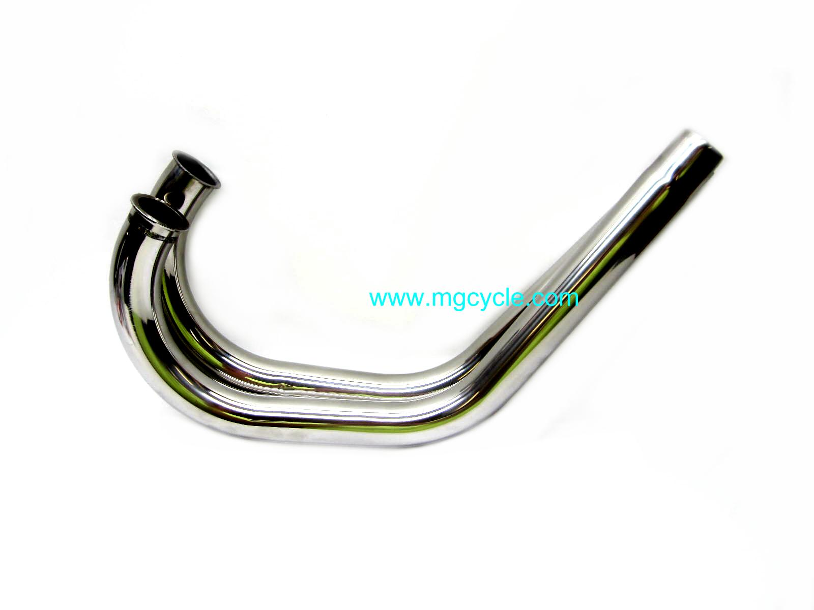 Pair of economy stainless head pipes for 850T T3 G5 Cal2 Cal3