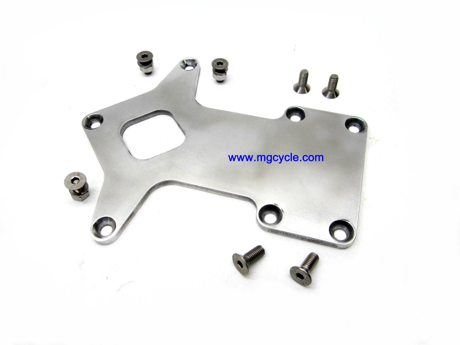 custom aluminum alloy battery tray, polished, with hardware