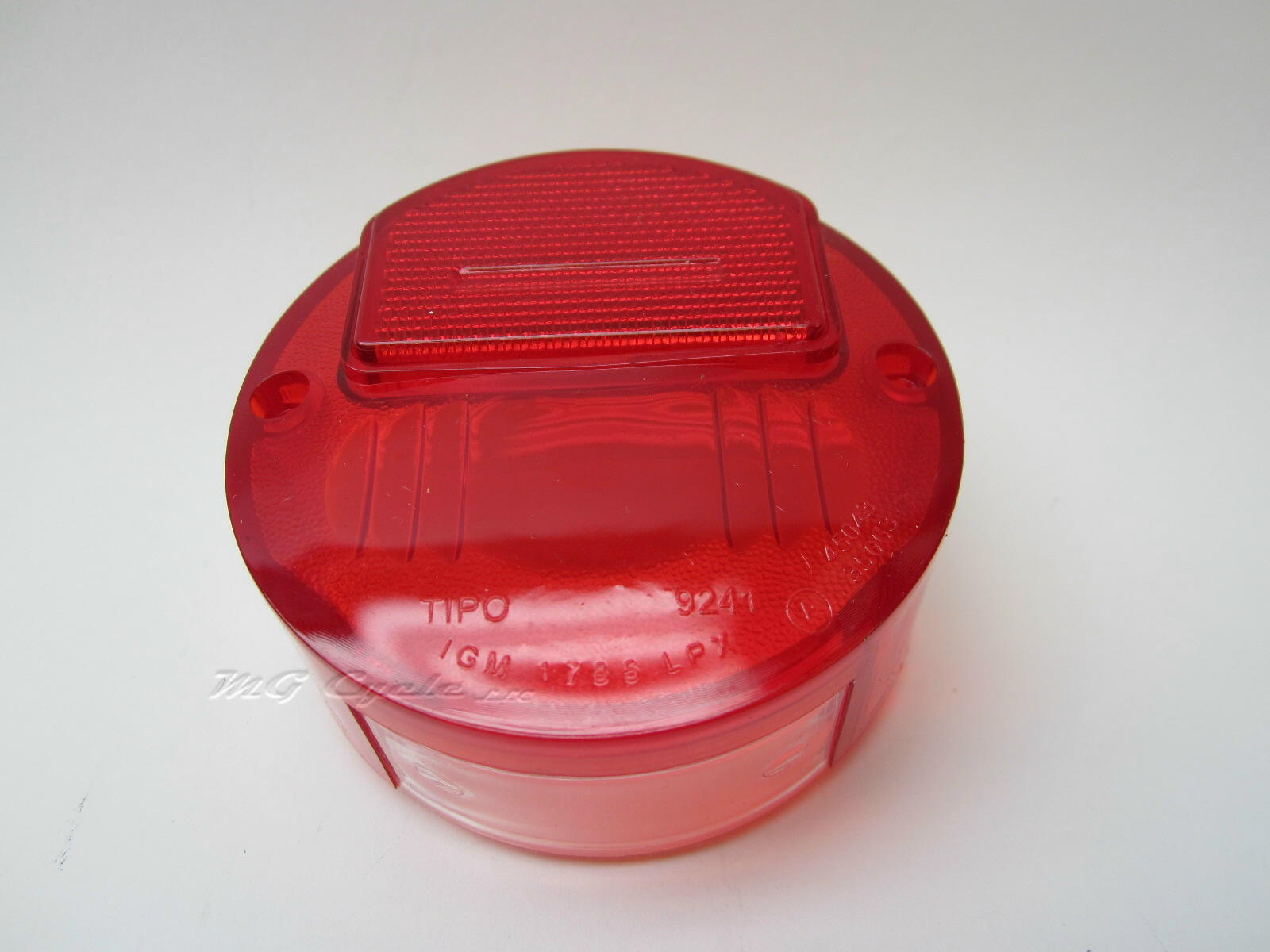 Round CEV tail light lens