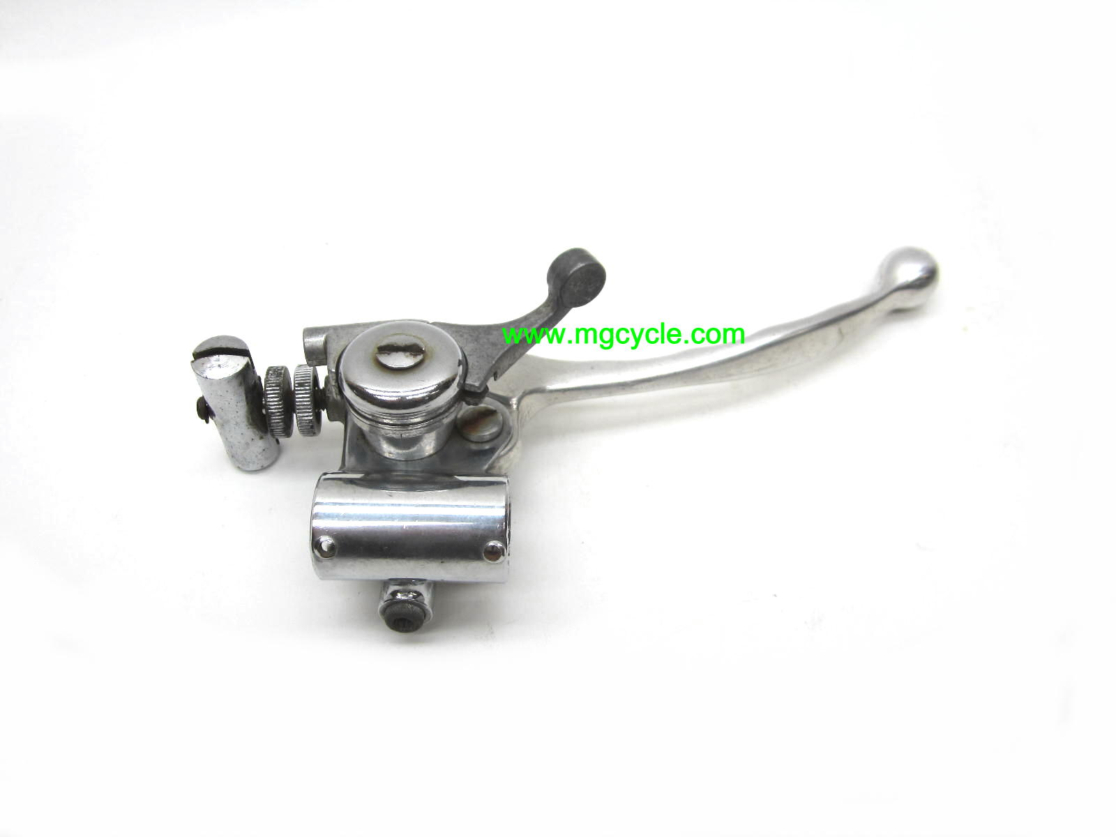 USED: brake lever and choke assembly, 4 shoe Eldorado, 850GT