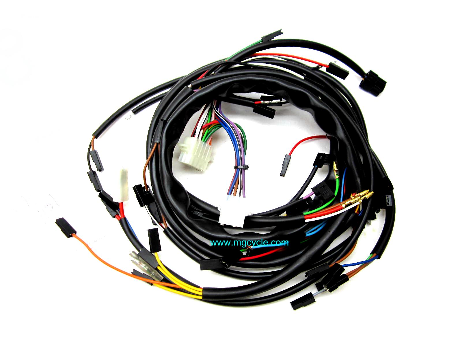Wiring Mg Cycle Moto Guzzi Parts And Accessories Available Online Main Harness Wire 1977 1978 850 Lemans