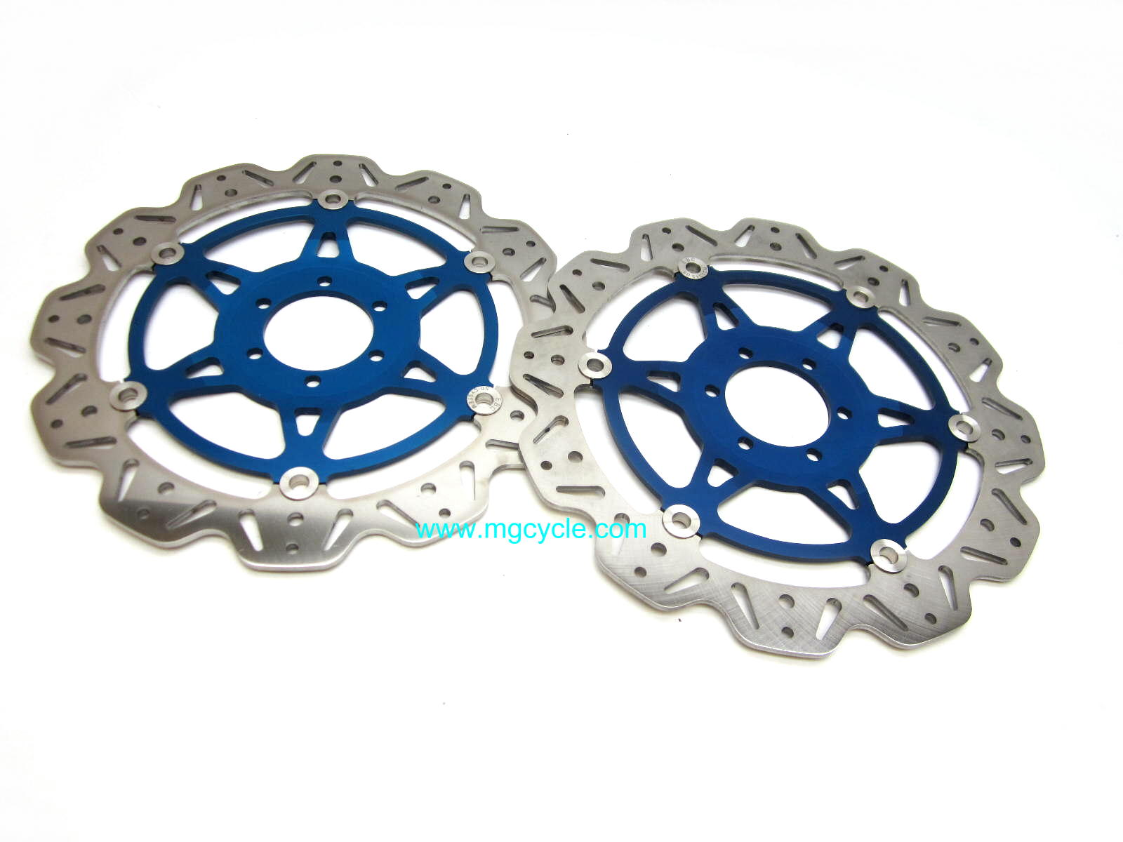 Pair of EBC Blue VEE-ROTOR discs for Griso 1100, Griso 1200 8V