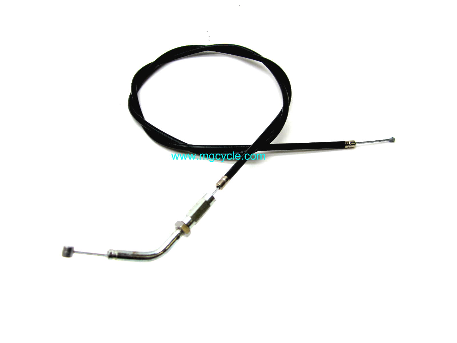 Throttle cable, T; T3 civilian w/Tommaselli Daytona 2C throttle