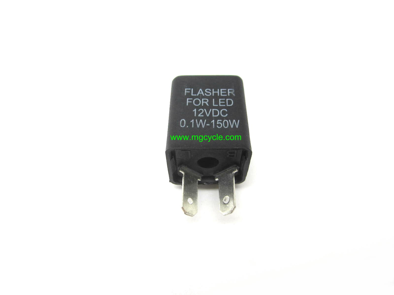 Turn signal flasher relay, heavy duty, 2 terminal
