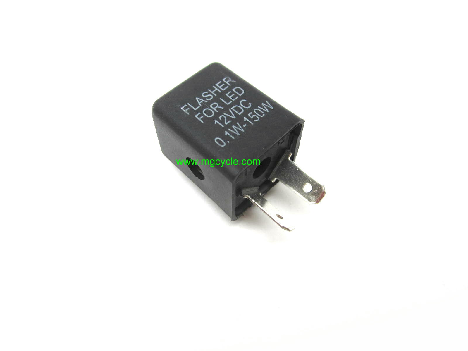 Turn signal flasher relay 2 terminal, works w/ LED turn signals