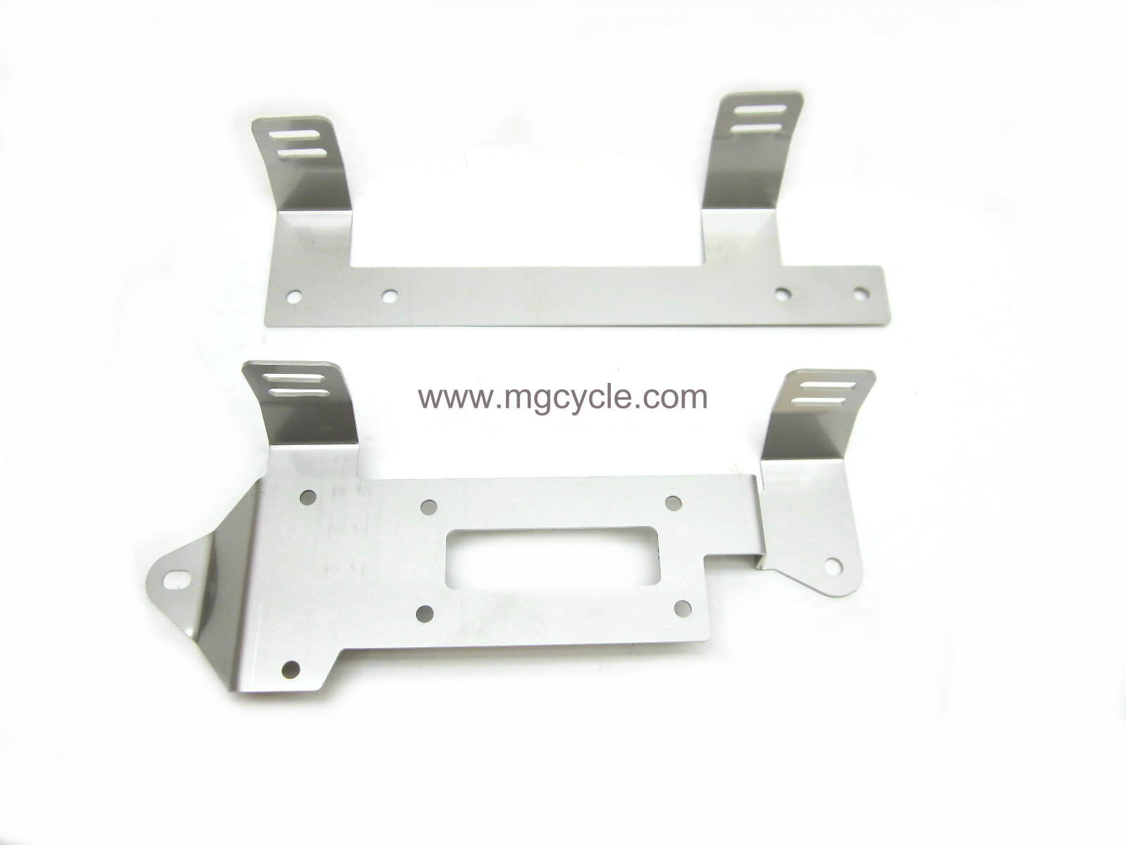 stainless side cover mount set, Convert, 850 T3, 850 LeMans