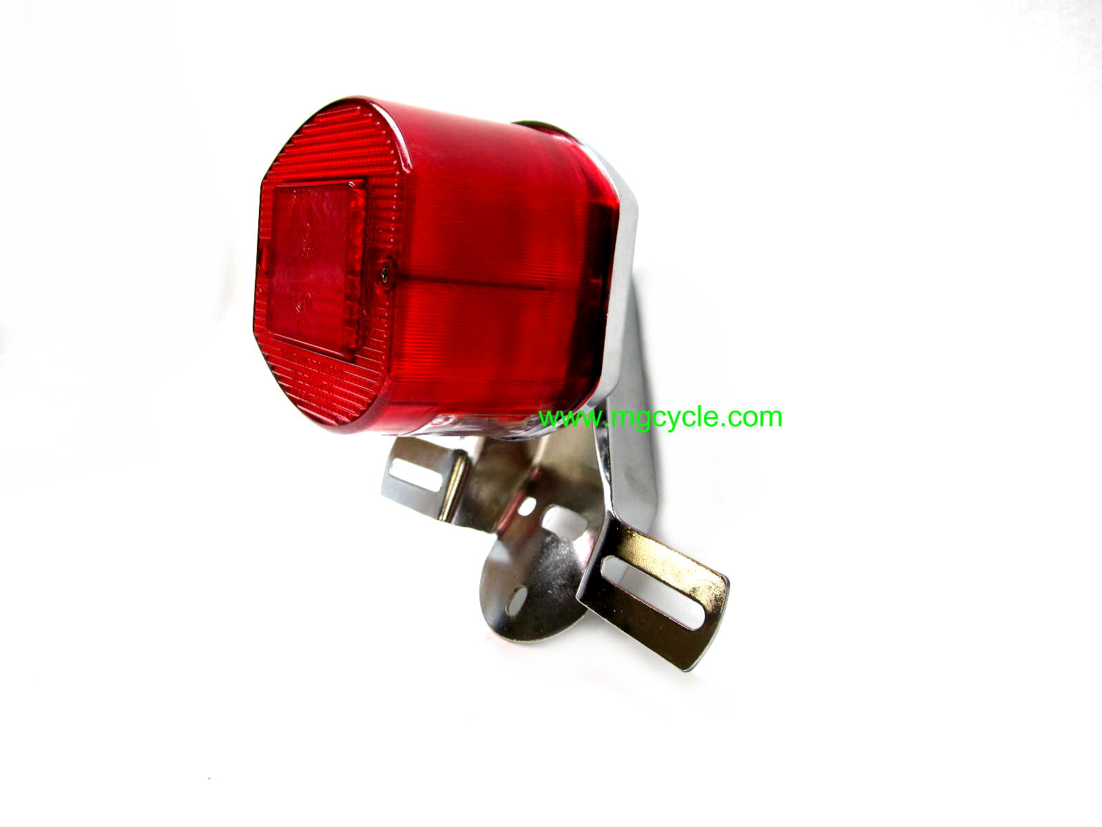 CEV tail light w chrome mount Moto Guzzi Ducati Vespa 14474901