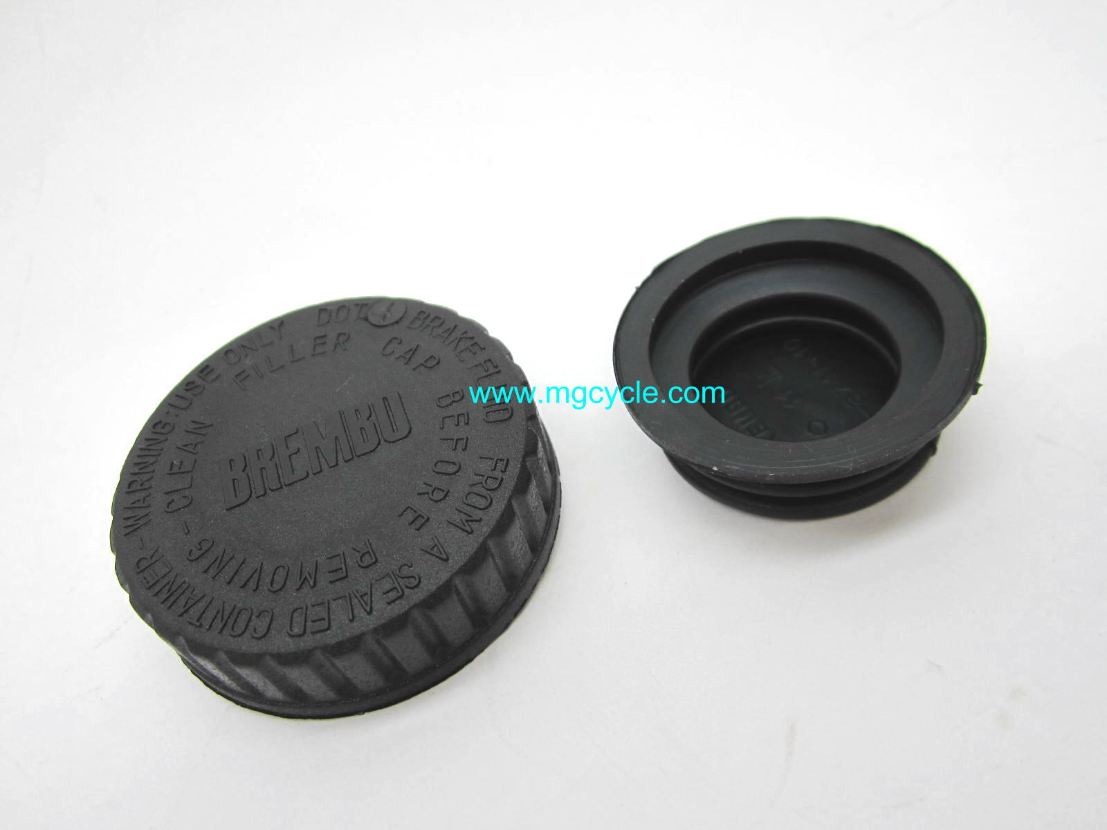 Brembo master cylinder cap and bellows for 12mm round masters