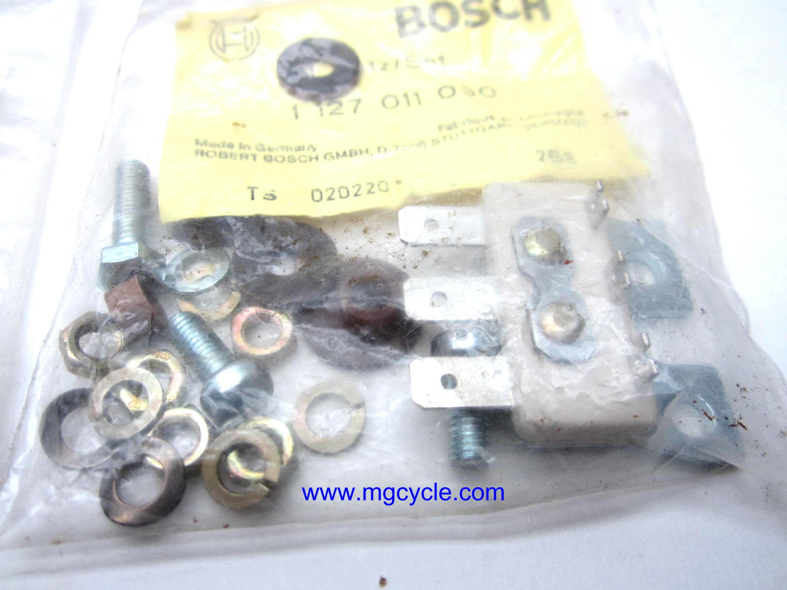 NOS Bosch alt stator repair kit 1 127 011 030 + brushes springs