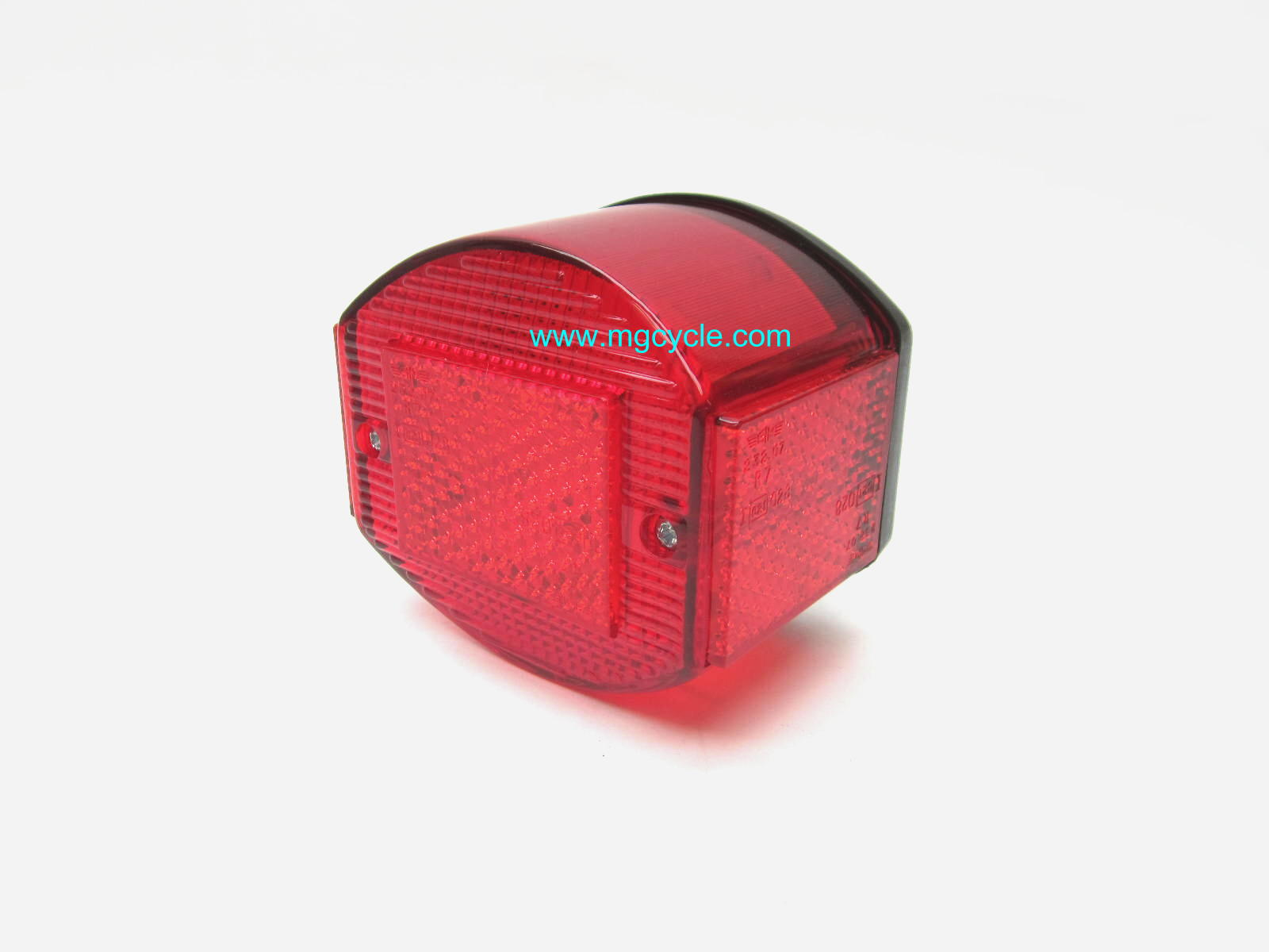 Economy CEV replica tail light unit, black base