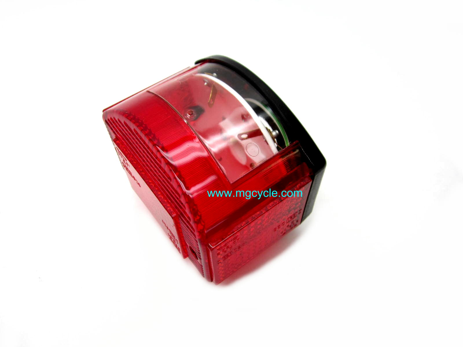Economy CEV replica tail light unit, black base 17740900