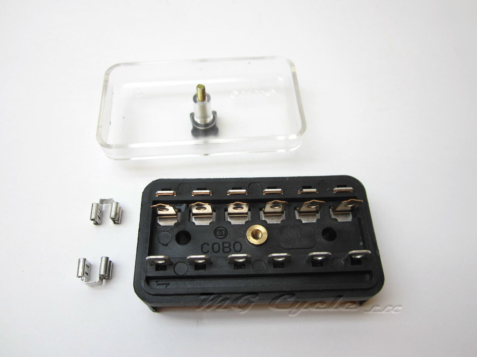 Fuse box with cover Guzzi big blocks '75 to '85 GU17743000