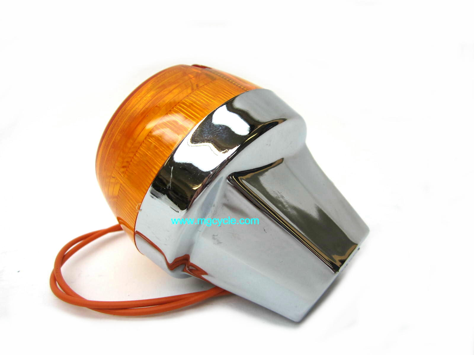 Replica CEV turn signal, chrome T3 T4 Convert G5 Cal 2 V50