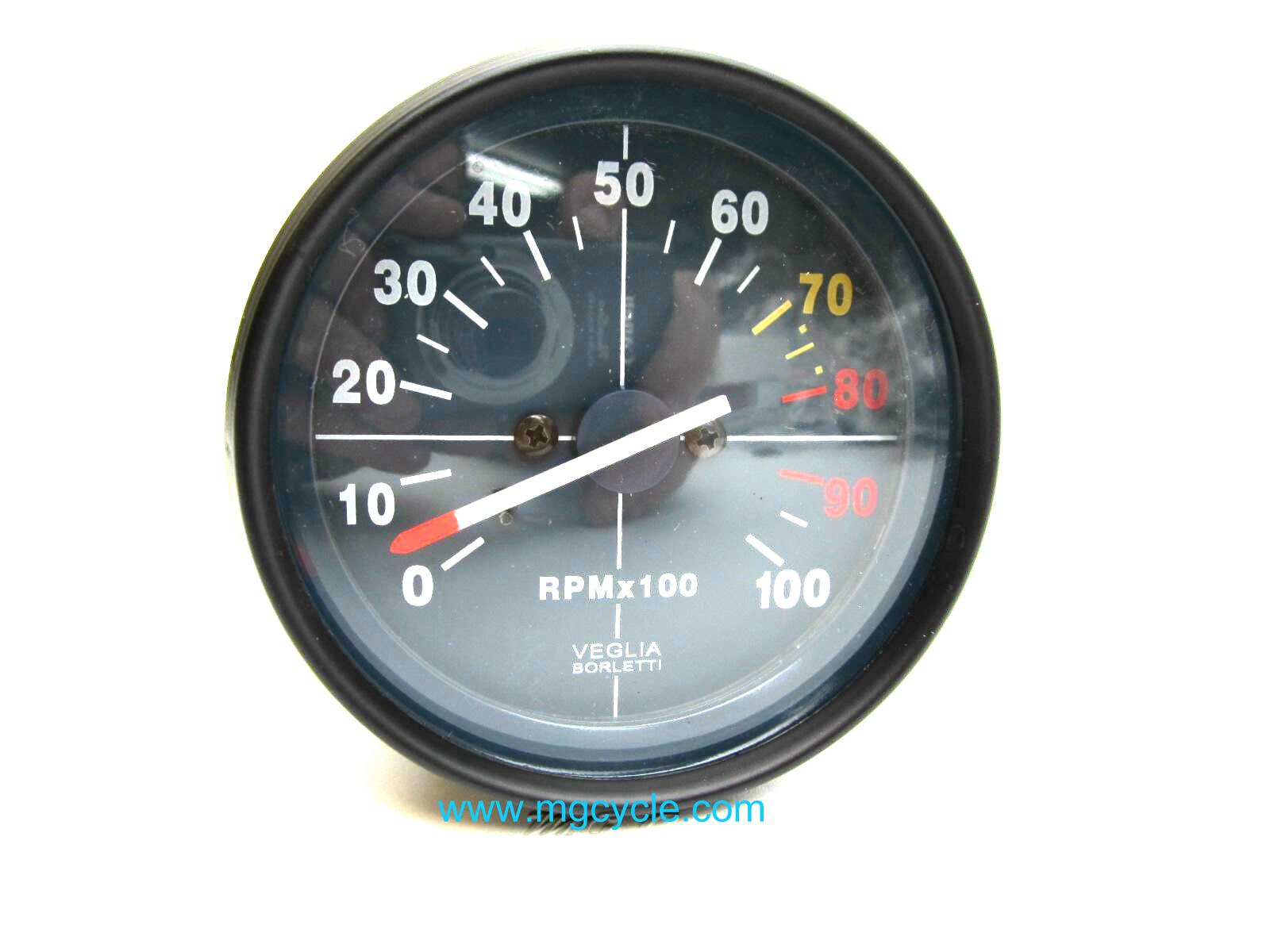 replica Veglia blue face tachometer, 80mm, 850 LeMans, etc