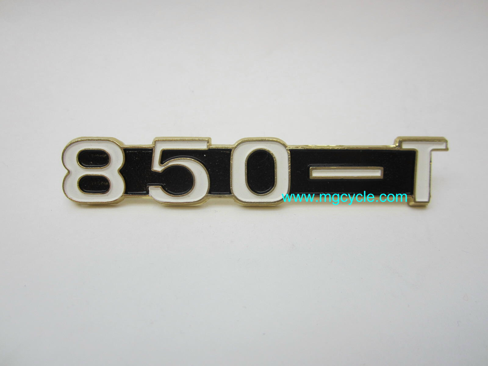 "badge, emblem, ""850-T"" side cover"