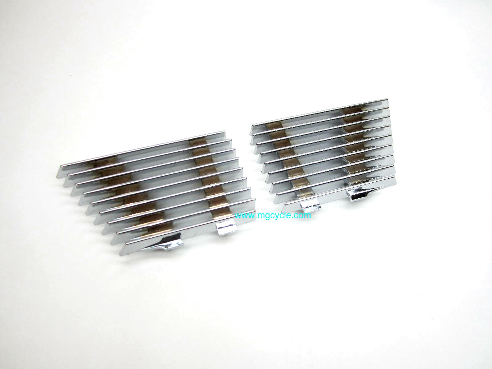 SALE: Chrome side cover grill set: Convert 850T3 1000SP V1000 G5
