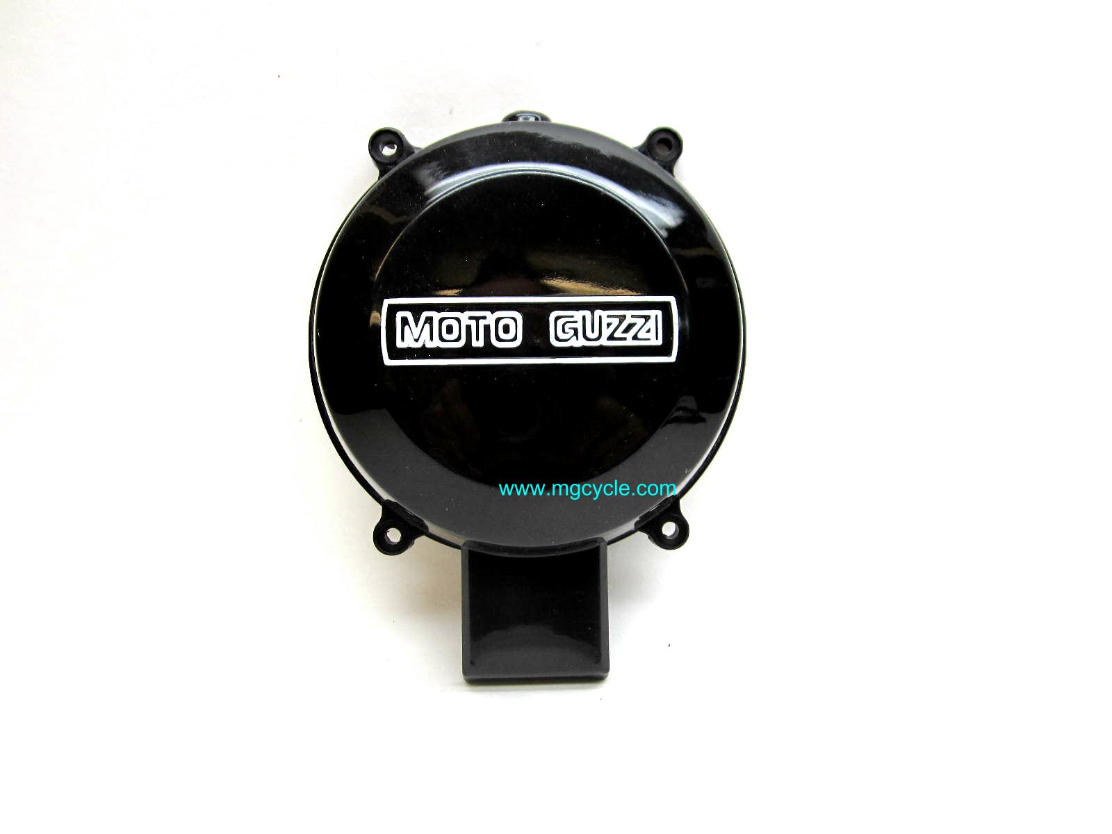 Alternator cover original plastic with vent protuberance