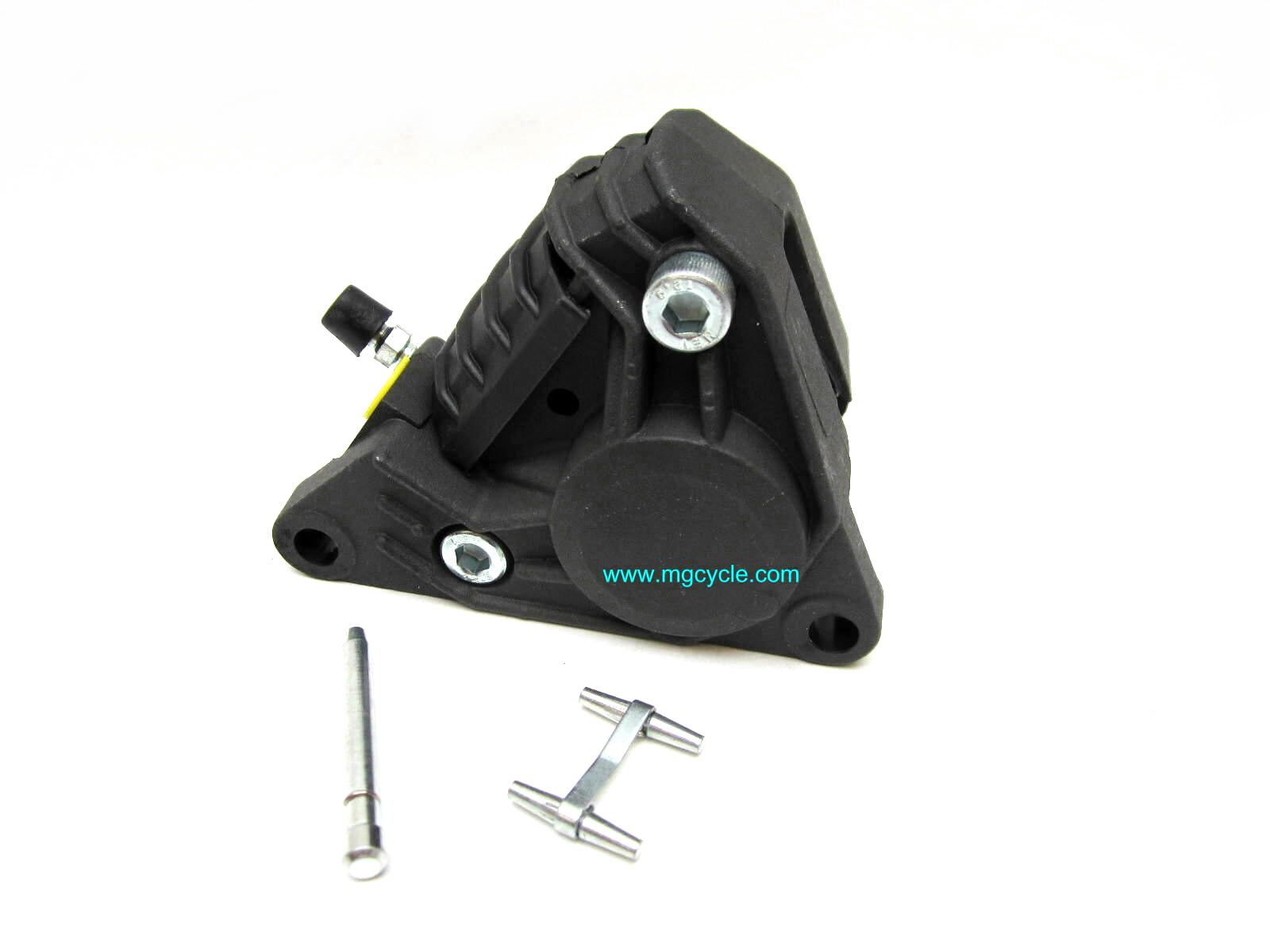 P2 F05 caliper, left side behind fork