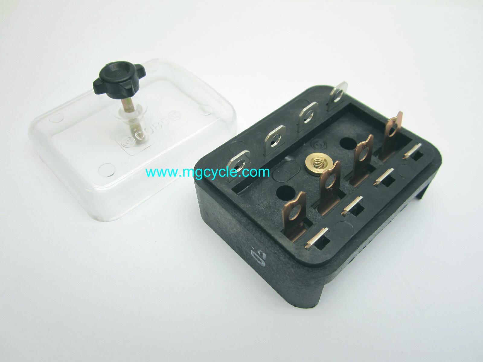 V35 Fuse Box Translation : Fuse box v ii monza mg