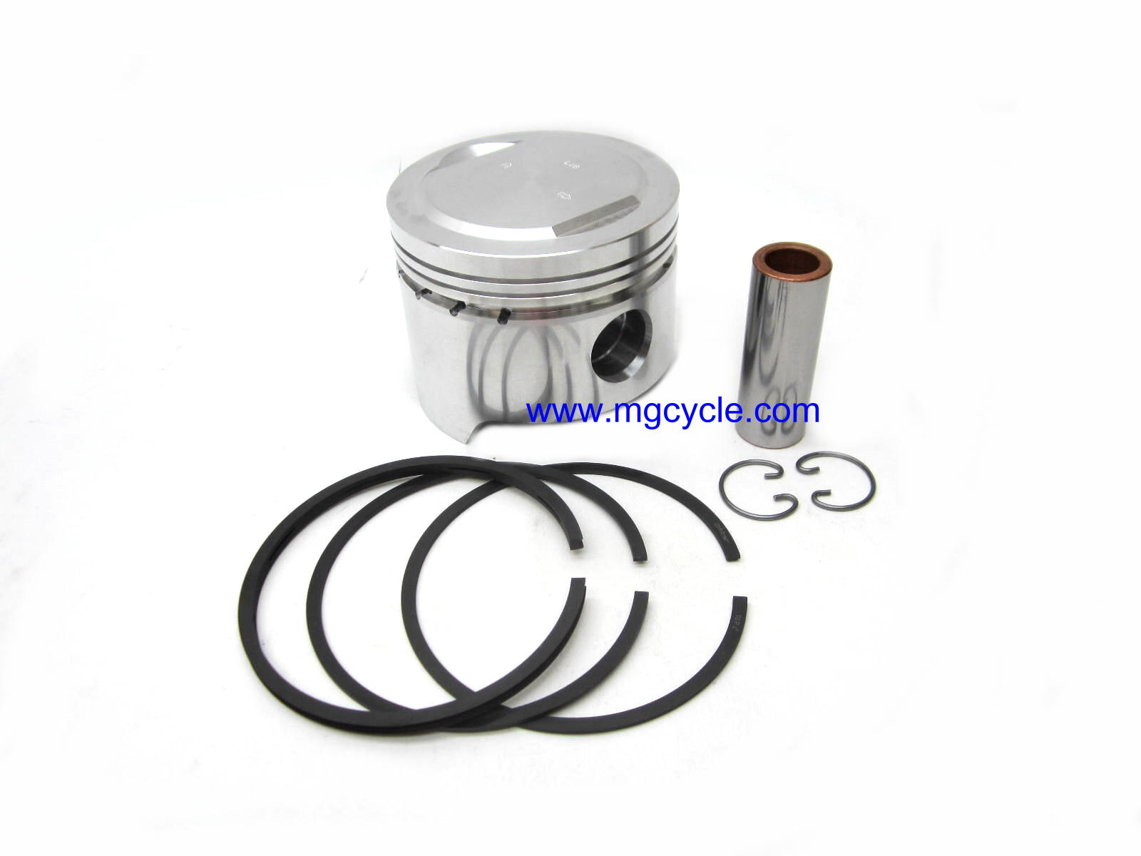 Piston (B), rings, wrist pin, circlips, 88mm, Convert, G5, Cal2